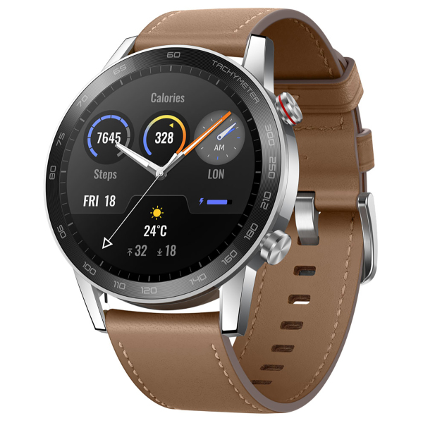Huawei Honor MagicWatch 2 46mm (leather strap) Flax Brown