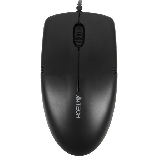 Мышь A4Tech OP-530NU Black USB Черная корпус chieftec mesh black xt 01b op
