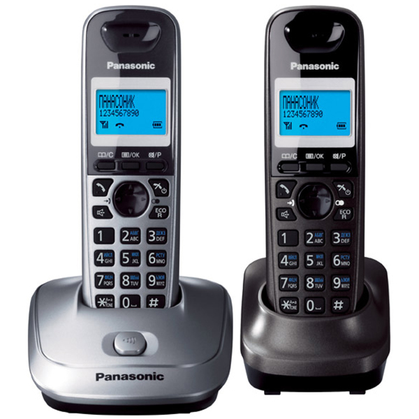 Фото - Радиотелефон Panasonic KX-TG2512 Серый радиотелефон alcatel smile grey