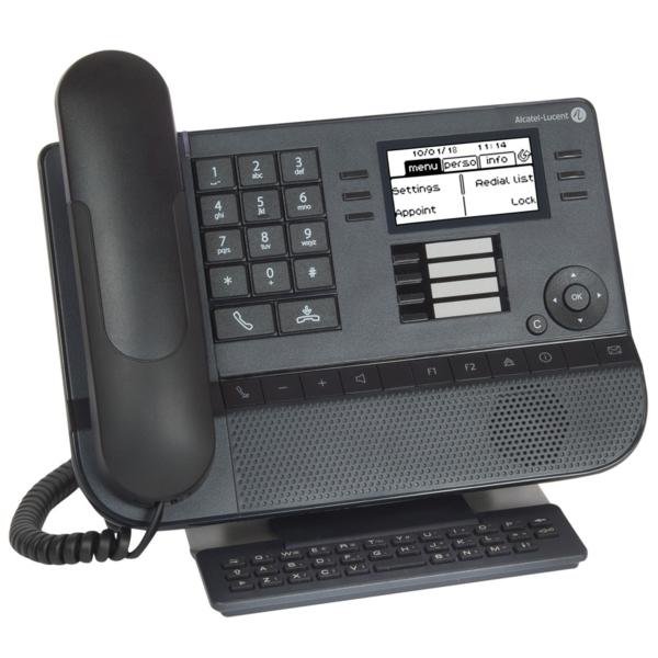 Системный телефон -Lucent 8029S Черный фото