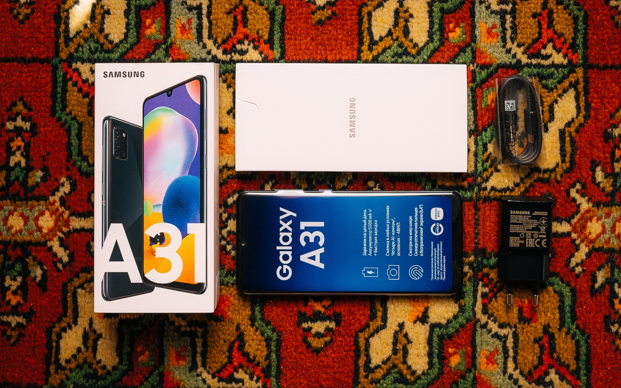 Samsung Galaxy A31 4 64Gb Black