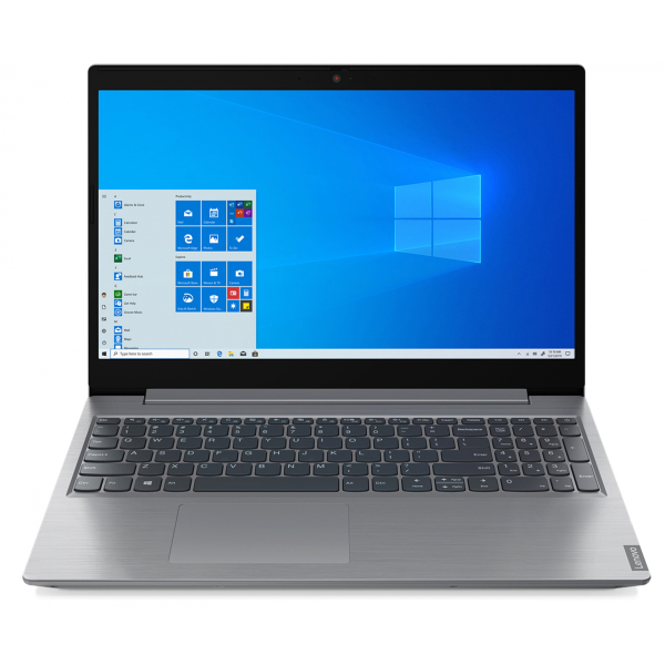 Ноутбук Lenovo IdeaPad L3 15IML05 Core i3 10110U 4Gb SSD256Gb Intel UHD Graphics 15.6 TN FHD 1920x1080 Windows 10 grey WiFi BT Cam