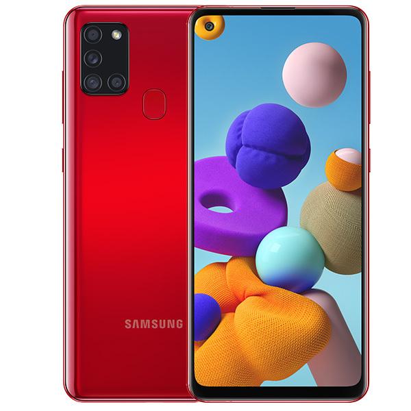 Смартфон Samsung Galaxy A21s 64Gb Red смартфон samsung galaxy a21s 4 64gb синий