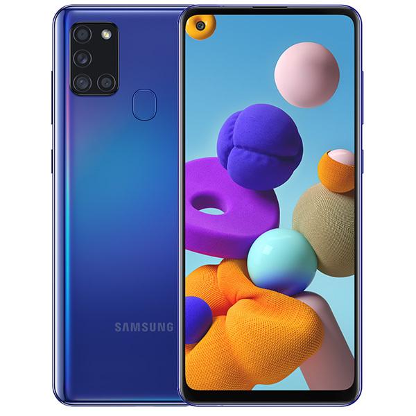 Смартфон Samsung Galaxy A21s 64Gb Blue смартфон samsung galaxy a21s 4 64gb синий