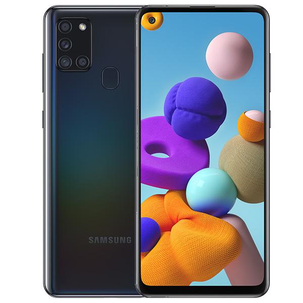 Смартфон Samsung Galaxy A21s 64Gb Black смартфон samsung galaxy a21s 4 64gb синий