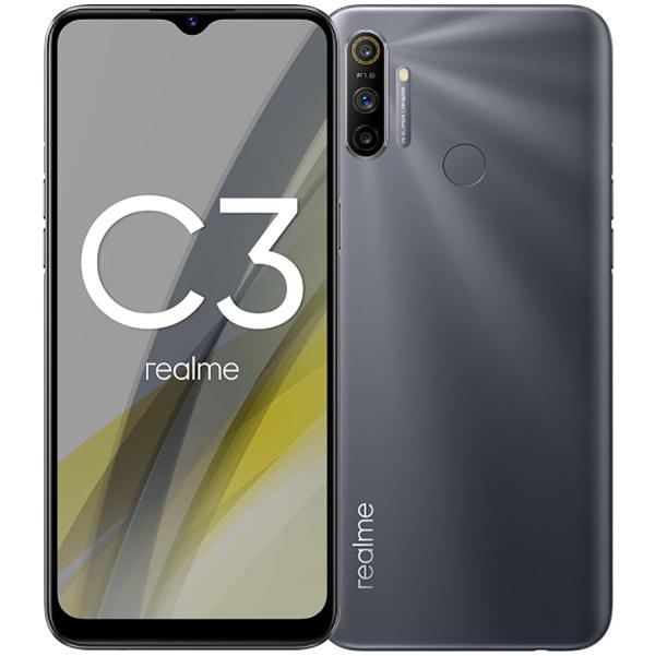 Realme C3 3 64Gb Grey характеристики, подробное описание