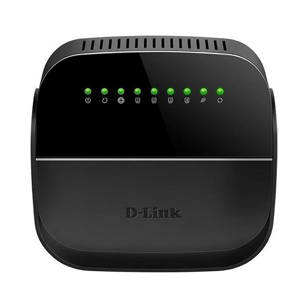 Роутер Wi-Fi D-Link DSL 2640U R1A Черный wi fi роутер d link dir 842 ru r1a черный