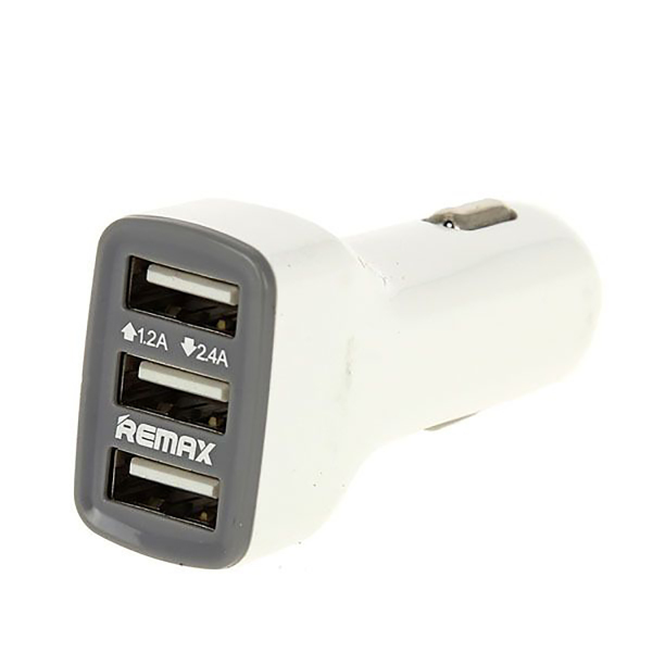 Автомобильное зарядное устройство Remax CC-301 Белое