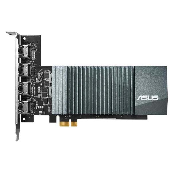 Видеокарта Asus GeForce GT 710 (GT710-4H-SL-2GD5) видеокарта asus geforce gt 710 silent lp 2gb gt710 sl 2gd5 brk retail