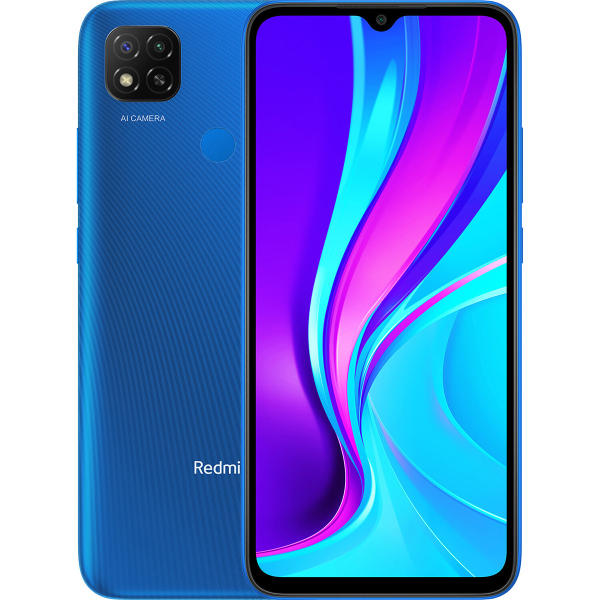 Xiaomi Redmi 9C 3 64Gb NFC RU Blue характеристики, подробное описание