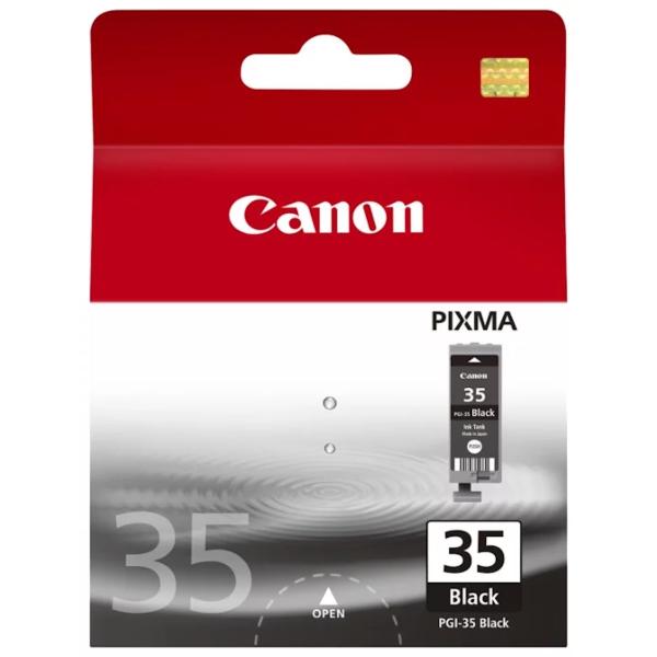 Картридж струйный Canon PGI-35 1509B001 черный для Pixma iP100 картридж t2 pgi 35 черный [ic cpgi 35]