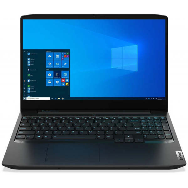"Ноутбук Lenovo IP Gaming 3 15IMH05 Core i7 10750H 8Gb SSD512Gb NVIDIA GeForce GTX 1650 4Gb 15.6"" IPS FHD (1920x1080) Free DOS black WiFi BT Cam"