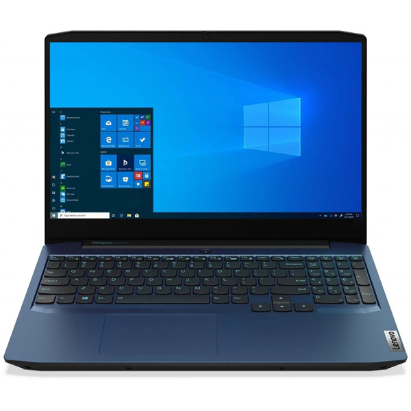 Ноутбук Lenovo IP Gaming 3 15IMH05 Core i5 10300H 8Gb SSD512Gb NVIDIA GeForce GTX 1650 Ti 4Gb 15.6 IPS FHD (1920x1080) Free DOS blue WiFi BT Cam lenovo ideapad 3 15imh05 gaming [81y40099rk] blue 15 6 fhd i5 10300h 8gb 512gb ssd gtx1650ti 4gb dos