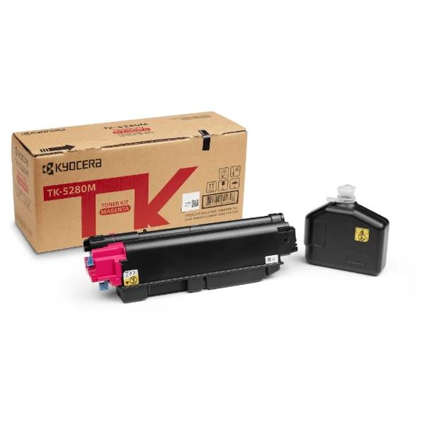 Картридж лазерный Kyocera TK-5280M пурпурный (11000стр.) для Ecosys P6235cdn M6235cidn M6635cidn мфу kyocera ecosys m2235dn