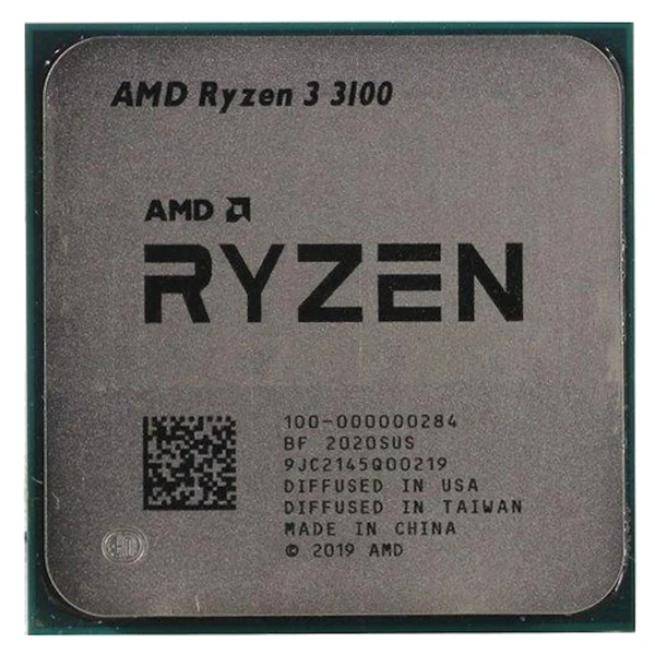 Процессор AMD Ryzen 3 3100 AM4 (100-000000284) (3.6GHz) OEM
