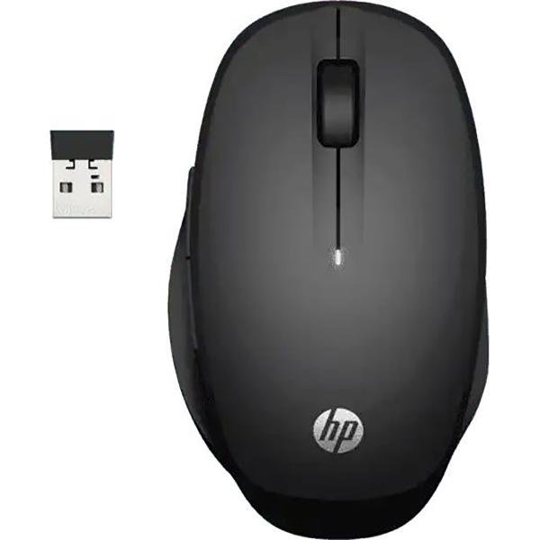 Мышь HP Dual Mode Black Mouse (6CR71AA) черная оптическая беспроводная беспроводная мышь xiaomi miiiw dual mode portable mouse lite version розовый
