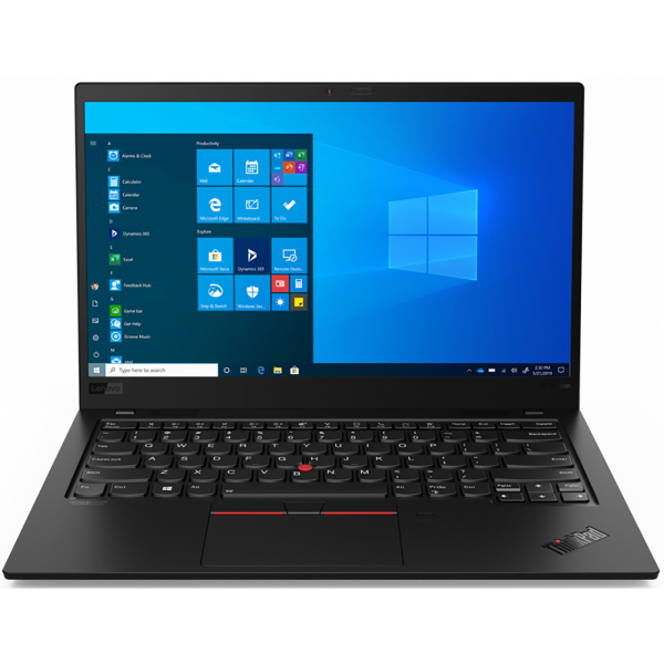 "Ноутбук Lenovo ThinkPad X1 Carbon G8 T Core i5 10210U 8Gb SSD256Gb Intel UHD Graphics 14"" FHD (1920x1080) 4G Windows 10 Professional 64 black WiFi BT Cam"