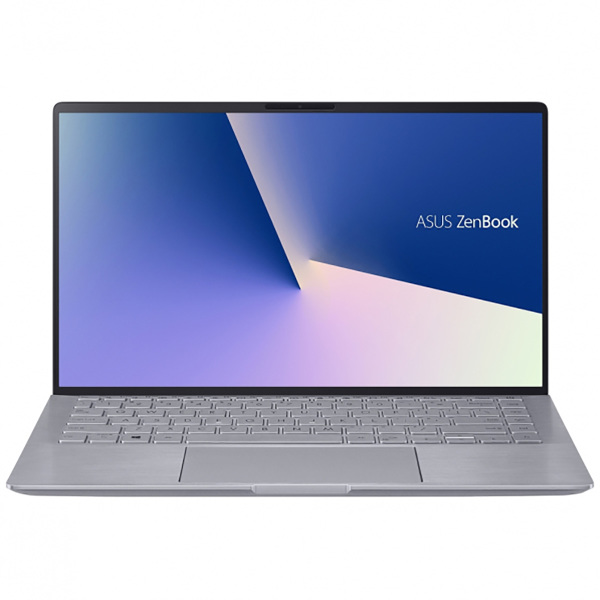 "Ноутбук Asus Zenbook UM433IQ-A5037T Ryzen 5 4500U 8Gb SSD256Gb NVIDIA GeForce MX350 2Gb 14"" IPS FHD (1920x1080) Windows 10 silver WiFi BT Cam"