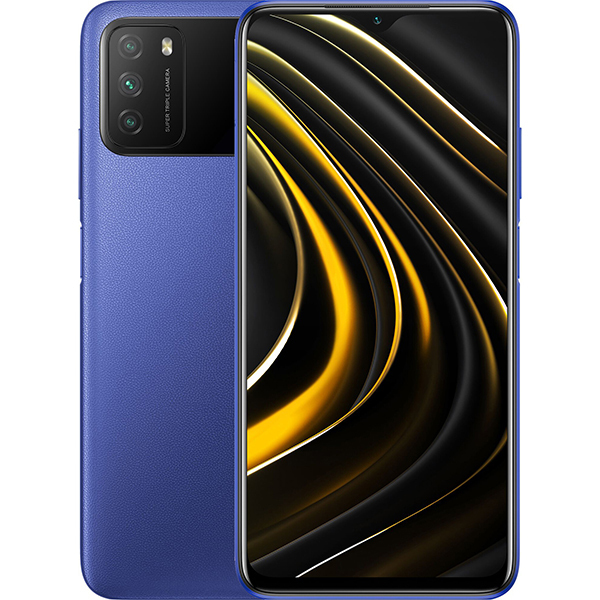 Xiaomi Poco M3 4 128Gb RU Cool Blue