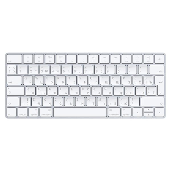 Клавиатура Apple Magic Keyboard MLA22RU A клавиатура apple magic keyboard with numeric keypad mrmh2rs a space gray bluetooth