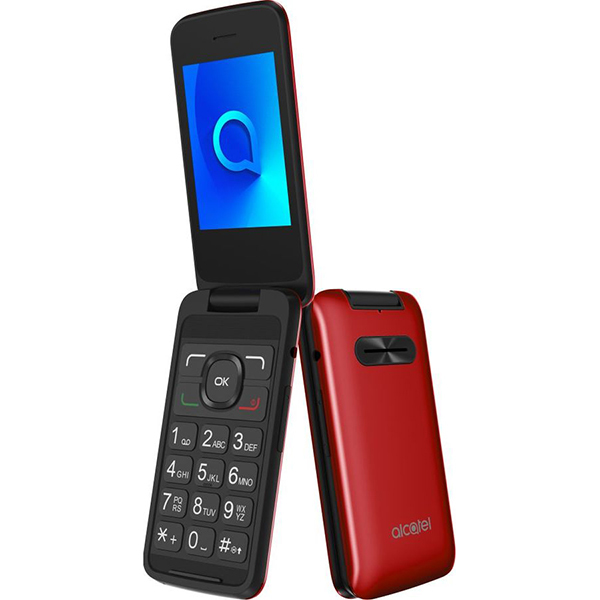 Alcatel 3025X Metallic Red