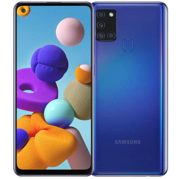 Смартфон Samsung Galaxy A21s 32Gb Blue смартфон samsung galaxy a21s 4 64gb синий
