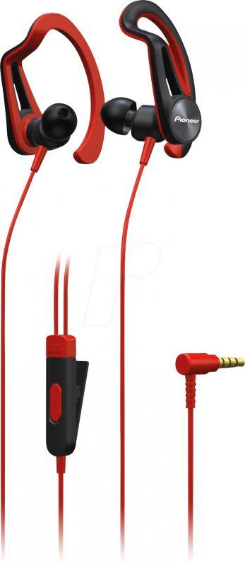 Наушники Pioneer SE-E5T-R Красные