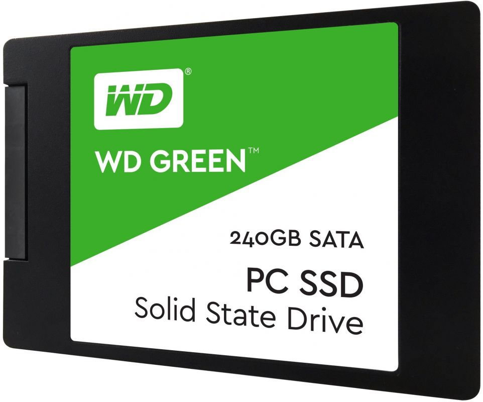 SSD накопитель Western Digital WD Green PC SSD 240 Gb (WDS240G2G0A)