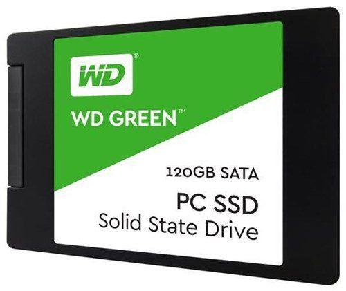 Твердотельный накопитель(SSD) Western Digital SSD накопитель WD Green PC SSD 120 Gb (WDS120G2G0A)