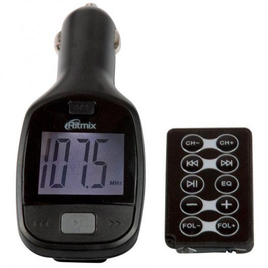Фото - FM-трансмиттер Ritmix FMT-A705 fm трансмиттер eplutus fb 03 bt