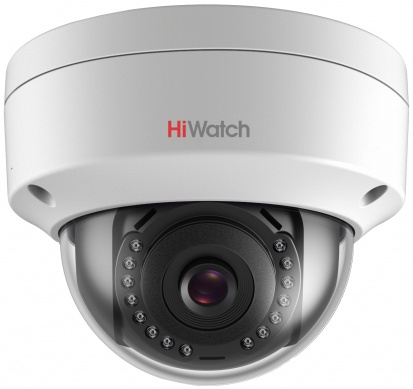 Видеокамера IP Hikvision HiWatch DS-I202 С 2.8 2.8мм Белая