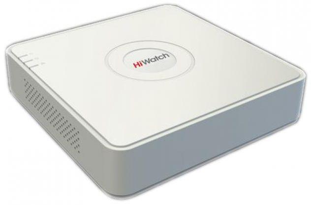 Сетевой видеорегистратор Hikvision Видеорегистратор HiWatch DS N204 B Белый