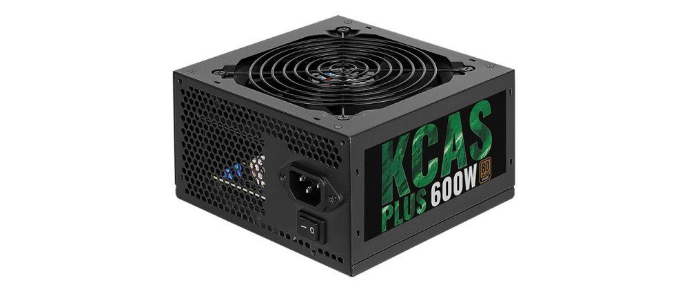 Блок питания Aerocool ATX 600W KCAS PLUS 600 (KCAS-600W PLUS)