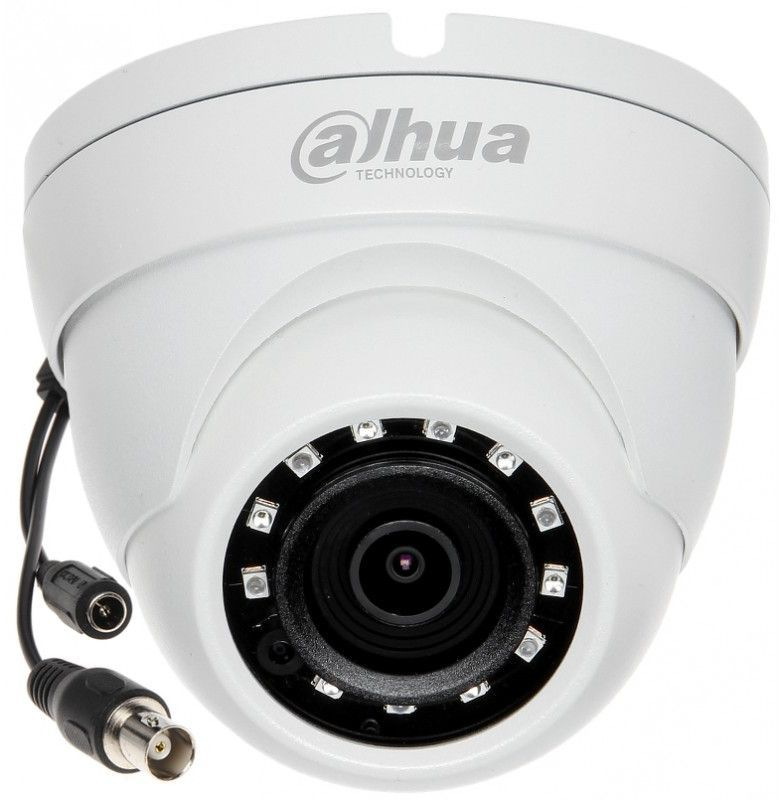 Камера видеонаблюдения Dahua DH-HAC-HDW1220MP-0280B 2.8 Белая камера видеонаблюдения dahua dh hac hfw1200tp 0280b 2 8 2 8мм белая