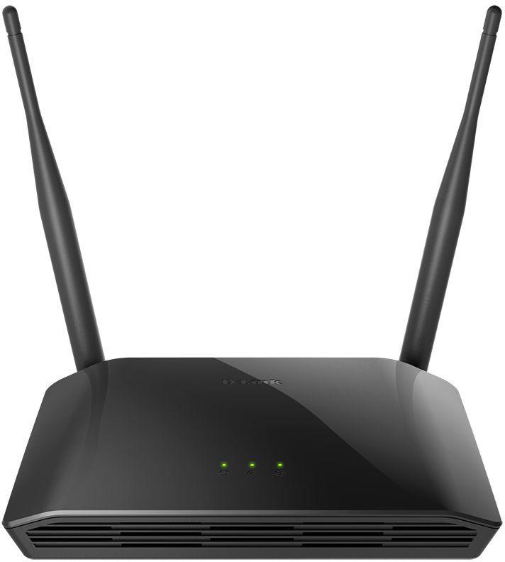 Роутер Wi-Fi D-Link DIR-615 Черный wi fi роутер d link dir 842 ru r1a черный