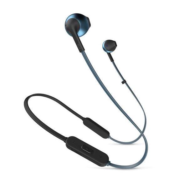 Фото - Bluetooth-наушники с микрофоном JBL Наушники с микрофоном T205BT Lifestyle Синие гарнитура jbl t205bt lifestyle bluetooth вкладыши синий [jblt205btblu]