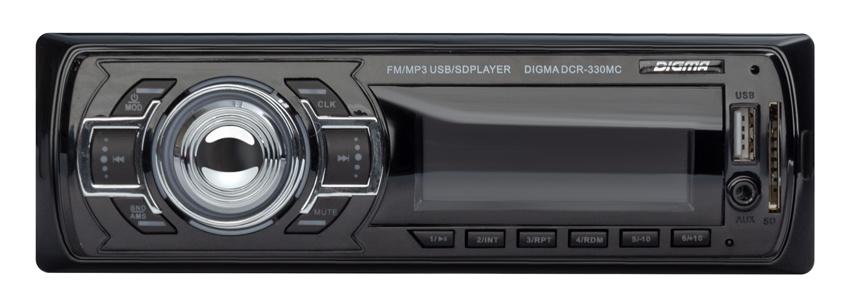Автомагнитола Digma DCR 330MC