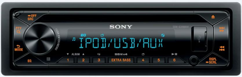 Автомагнитола CD Sony CDX G3300UV
