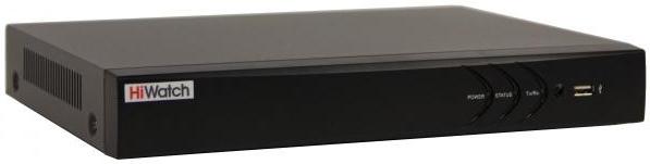 Сетевой видеорегистратор Hikvision Видеорегистратор HiWatch DS N332 2 B Черный