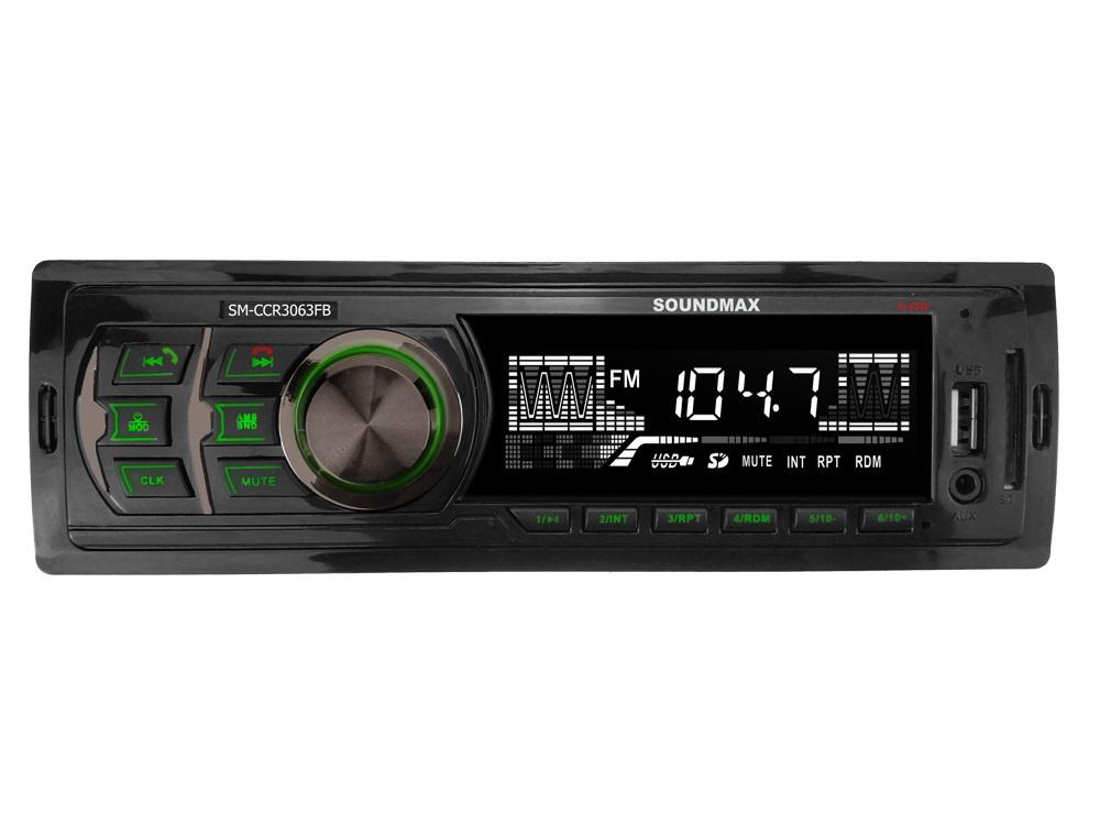 Автомагнитола Soundmax SM CCR3063FB