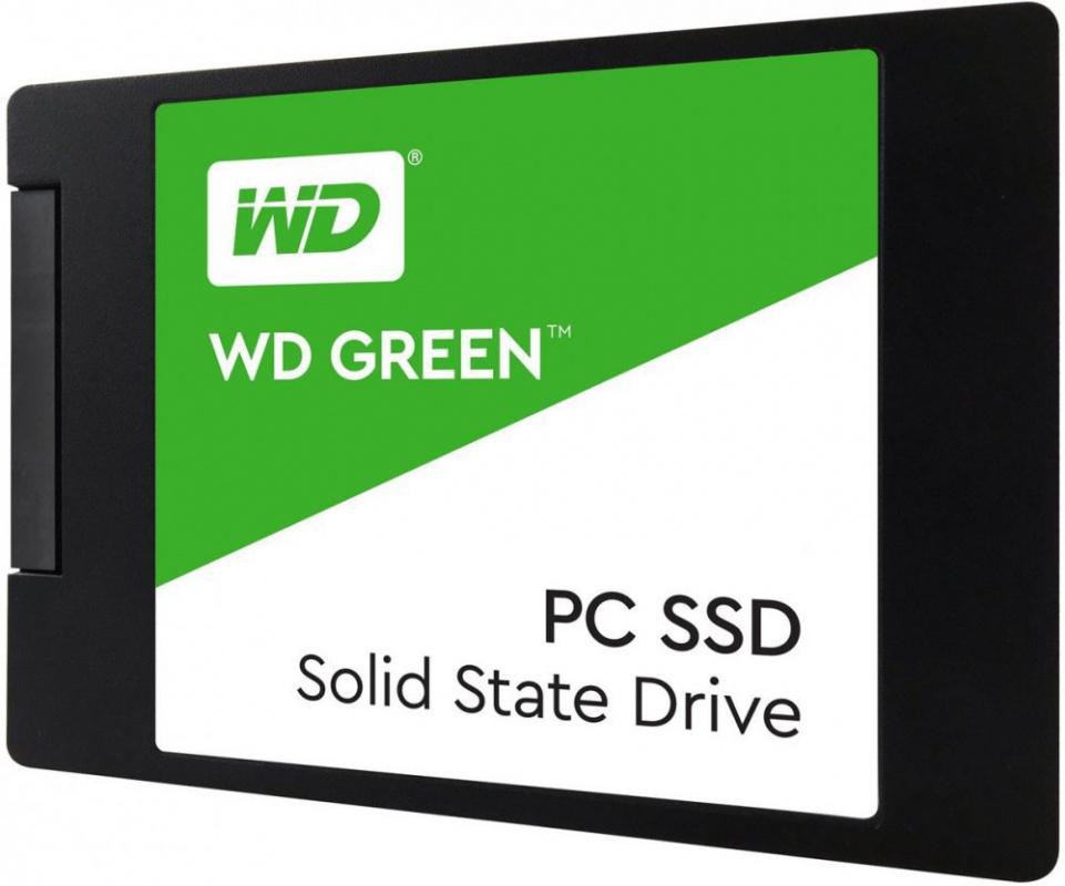 Твердотельный накопитель(SSD) Western Digital SSD накопитель WD Green PC SSD 480 Gb (WDS480G2G0A)