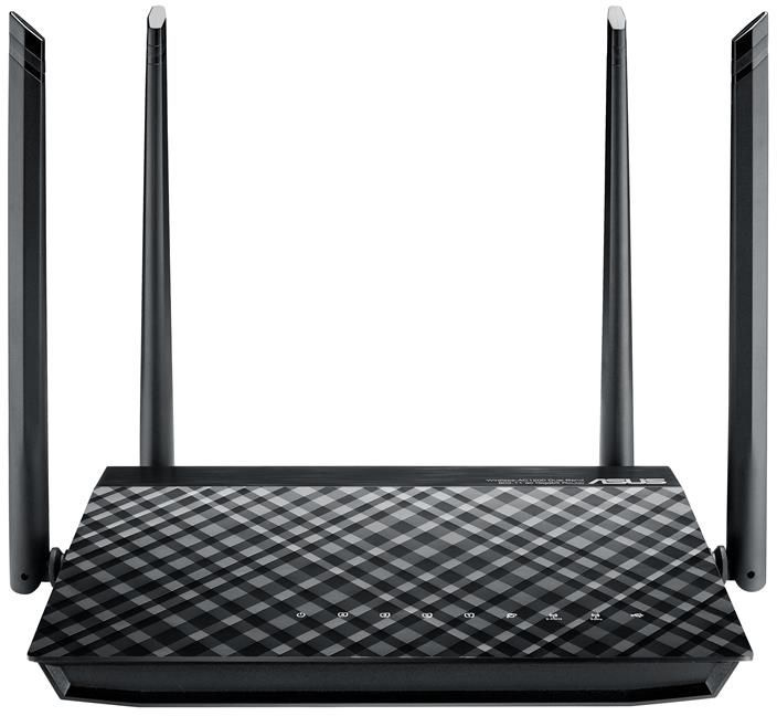 Роутер Wi-Fi Asus RT-AC57U V2 Черный wi fi роутер huawei ws5200 v2 белый