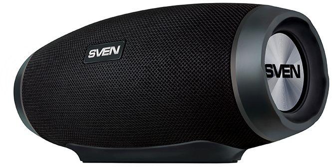 Sven Портативная колонка PS-230 черная 12W портативная акустика sven ps 230 черный