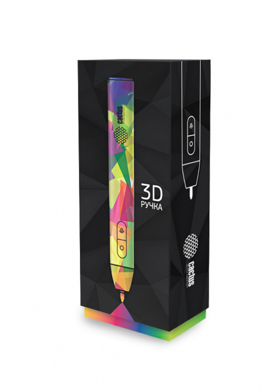 3D ручка Cactus CS 3D UV PS Черная