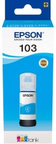 Картридж струйный Epson 103C C13T00S24A голубой (65мл) для L3100 3110 3150 картридж epson 103c голубой [c13t00s24a]