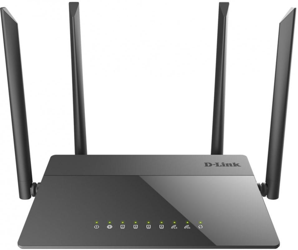 Роутер Wi-Fi D-Link DIR-841 Черный