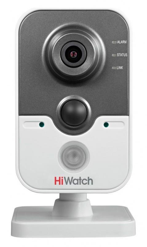 Видеокамера IP Hikvision HiWatch DS-I114W 6мм Белая