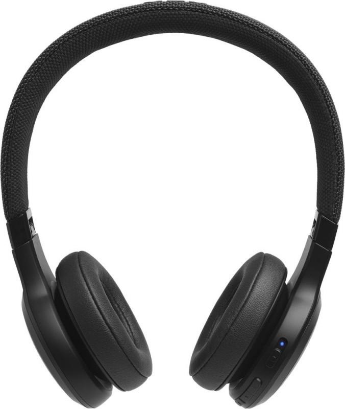 Фото - Bluetooth-наушники с микрофоном JBL Наушники с микрофоном LIVE400BT Черные наушники с микрофоном jbl c50hi 3 5 мм вкладыши черный [jblc50hiblk]