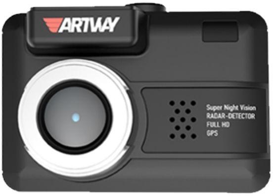 Видеорегистратор с радар-детектором Artway Combo MD-105 GPS Черный видеорегистратор с радар детектором artway md 108 signature 3 в 1 super fast gps черный
