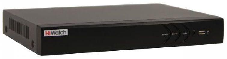Сетевой видеорегистратор Hikvision Видеорегистратор HiWatch DS N308P B Черный